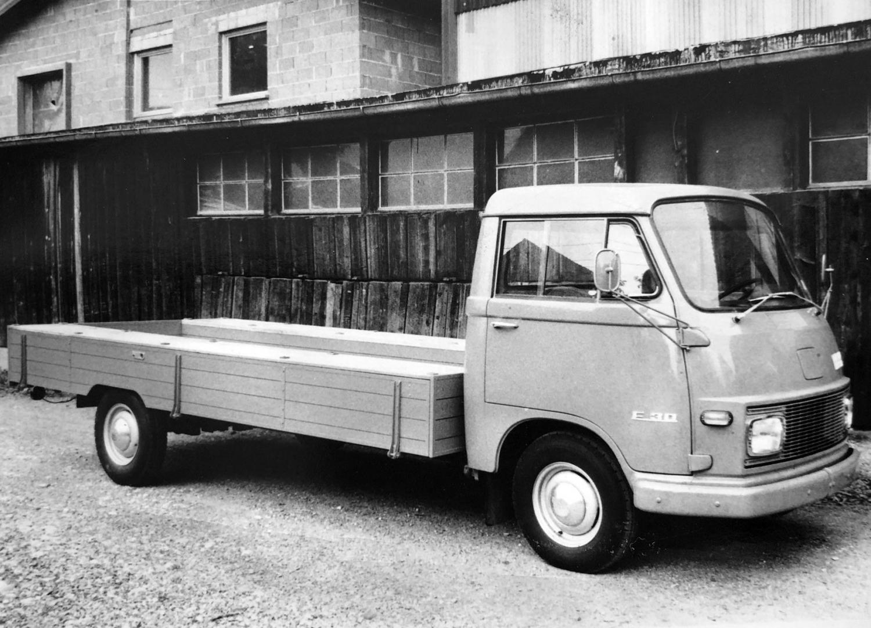 Das erste Firmenauto der Fa. KILGA